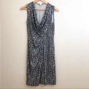 *DVF 100% Silk Exotic Print Cowl Neck Dress 4